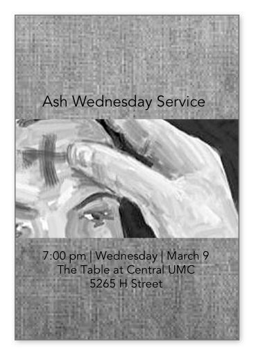 Ash Wednesday Worship 7:00 pm