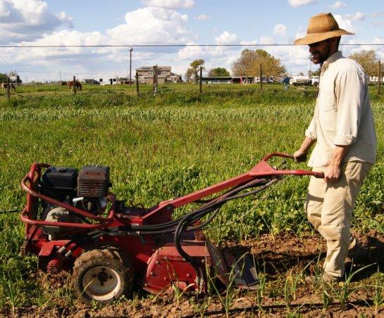 Photo by Debbie Cunningham.  Antonio Garza of Feeding Crane Farms