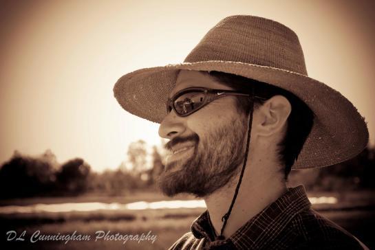 Antonio Garza, farmer.  photo by Debbie Cunningham